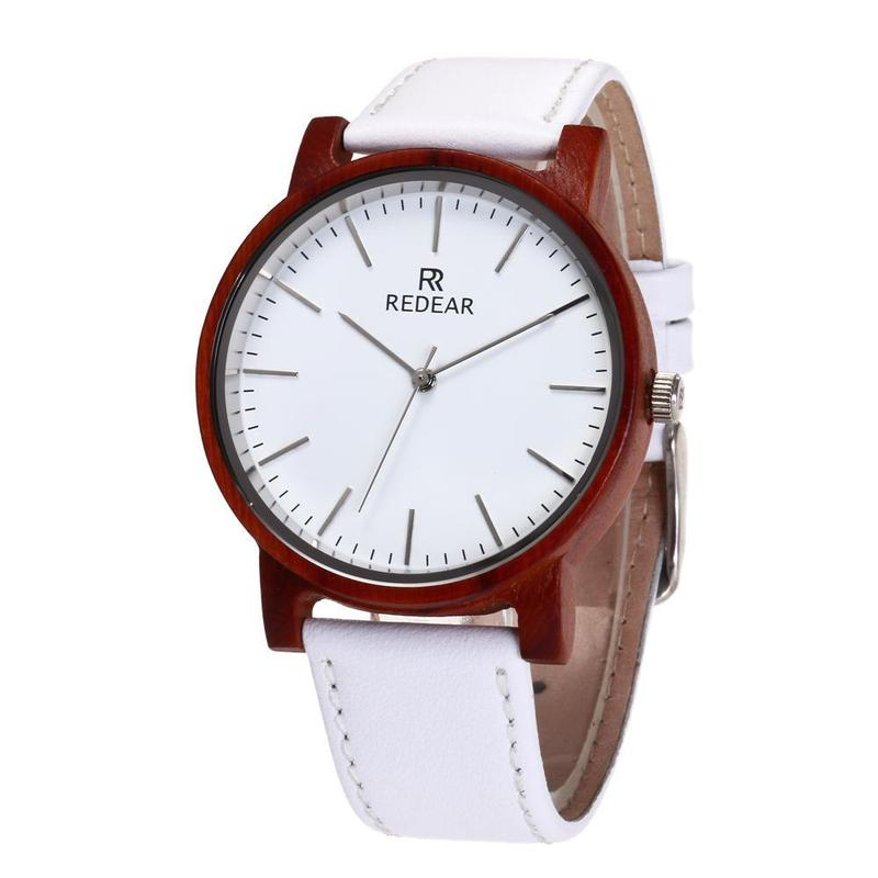 2020 Time-limited Manufacturer Of New Wood Watches Leather Imported Movement Quartz Watch Spot Wholesale
