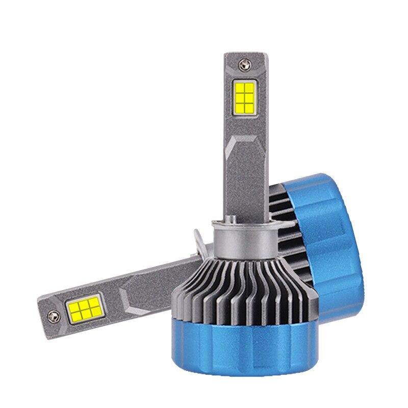 2pcs Mini 25000LM H7 Led Car Healights H4 HB2 H7 H16 9005 9006 HB3 BH4 H1 9012 9012 Led Headlamps Turbo H4 H8 H7 led Fog Lights