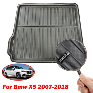 Image 3 - For BMW X5 E70 F15 2018  2017 2016 2015 2014   2007 Boot Mat Rear Trunk Liner Cargo Floor Tray Carpet Pad Protector Waterproof