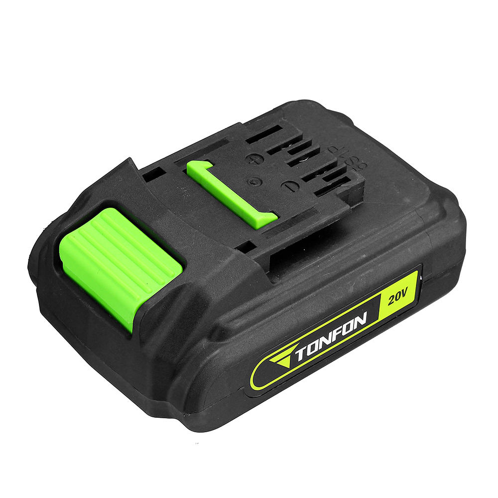 ALLSOME 20V 2000mAh Lithium Ion Battery For Tonfon Wireless Electric Cordless Drill Impact Power Driver HT2851