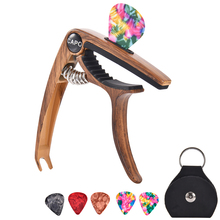 Quality Guitar Capo for 6/12 String Acoustic and Electric Guitars Bass Banjo with Picks and Picks Holder Accessories guitar capo guitar accessories trigger capo with 6 free guitar picks for acoustic and electric guitars also ukulele and banjo