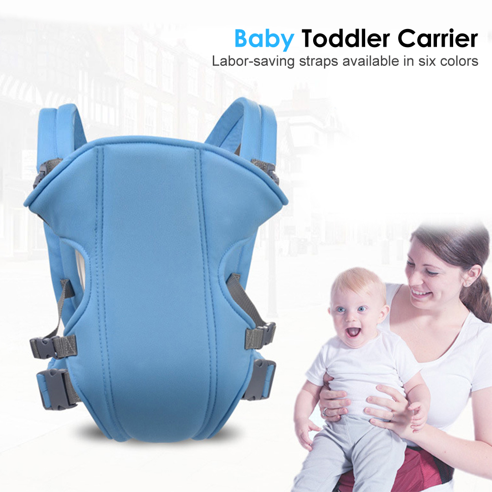 Portable Breathable Front Facing Baby Carrier Wrap Ordinary Design Operation Conveninently Infant Hipseat Sling Backpack