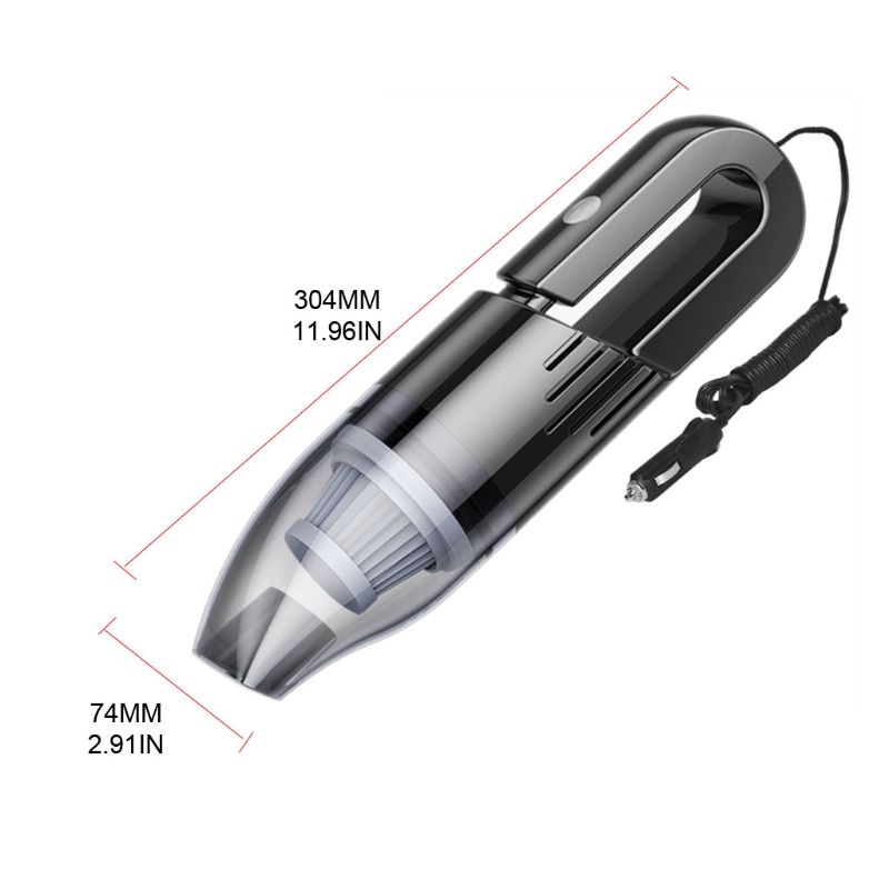 Car Household Dual Purpose Car Special Small Strong Suction Car Vacuum Cleaner R3MD