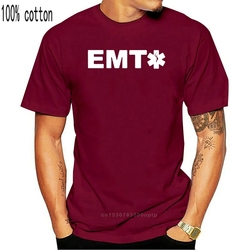 ADD Your NAME/TEXT To Our CUSTOM EMT Ems Ambulance Medical Technician T-shirt Two Sides