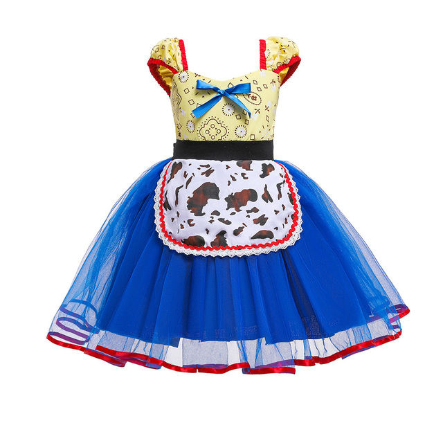 Everyday Princess Dress Comfortable Jessie Toy Story Woody Buzz Costume Dress Up Outfit