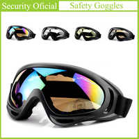 Outdoor Sports Safety Glasses Skiing Eyewear Sunglasses Winter Windproof Tactical Labor Protection Dust-proof Safety Goggles New