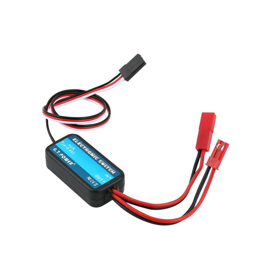 1 Pcs G.T.POWER 0-40V Remote Controller Electronic Switch RC Parts for RC Aircraft Helicopter Quadcopter Car Drone Model