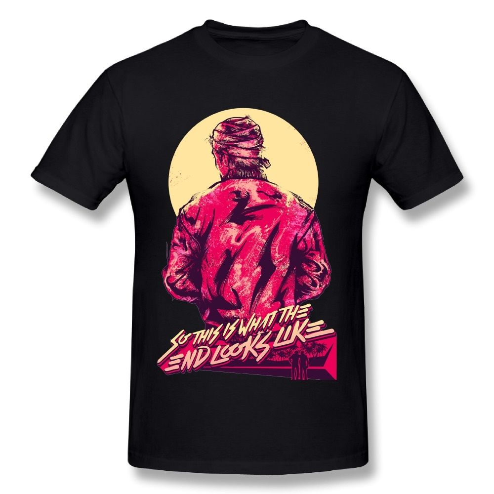 T-Shirts Game Hotline Miami Printed 100%Cotton Brand Short-Sleeve Summer-Design Fashionable
