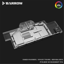 Barrow BS-NVG2080T-PA For edition Nvidia RTX2080Ti/2080  WaterCooling BlocksGPU Water Cooler Compatible