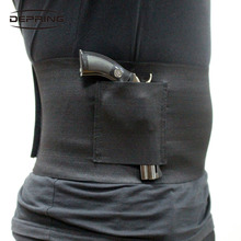 Slim Wrap Concealed Carry Belly Holster Gun Abdominal Band Pistol