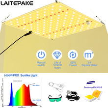 O diodo emissor de luz de samsung lm301b cresce a placa quantum cresce o espectro completo 1000w conduziu a crescer com ir/uv veg/bloom para crescer a lâmpada da barraca phytolamp