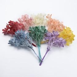 6pcs Multicolor Eucalyptus leaves wedding decoration home decorative flowers christmas wreaths diy silk leaf artificial flowers