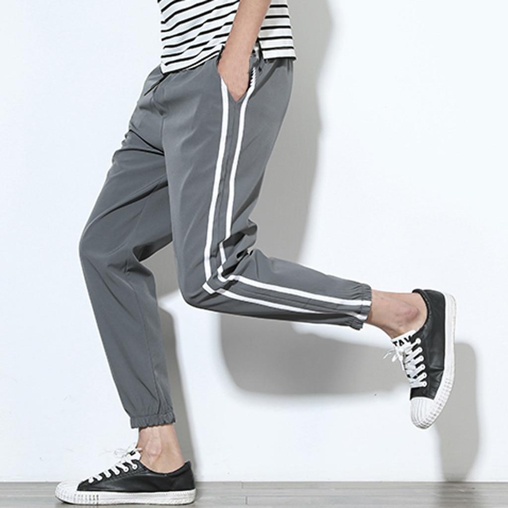 Pants Men Streetwear Pantalones Sweatpants Hip Hop Pantalon Homme Tactical Pants Spodnie 2019 Overalls Fashion New штаны Z4