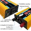 AOSHIKE Modified Sine Wave Car Power Inverter 12v 220v Inversor 12 v 220 v DC 12v to AC 110v Auto 230 Volt Voltage Converter promo