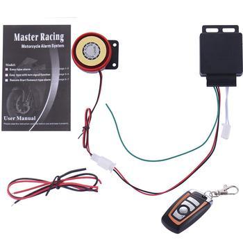 12V Motorcycle Bike Alarm System Anti-theft Security Alarm Moto Remote Control Engine Start Alarme Moto Speaker Vibration Alarm