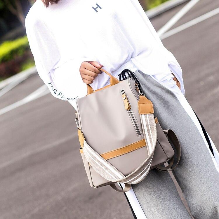 H4c2e7421e45745728c02f5c061bdb620B Anti-theft women backpacks ladies large capacity backpack high quality bagpack waterproof Oxford women backpack sac a dos