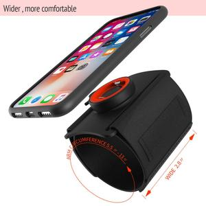 Image 2 - Universal Phone carrying Cases for hand Sport Armband phone holder Cover for Running Arm Band base for iPhone/for Huawei handbag