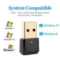 Adaptador USB Bluetooth 5,0, receptor transmisor, Dongle Bluetooth, adaptador USB para ordenador, PC y portátil, teclado, altavoz de impresora