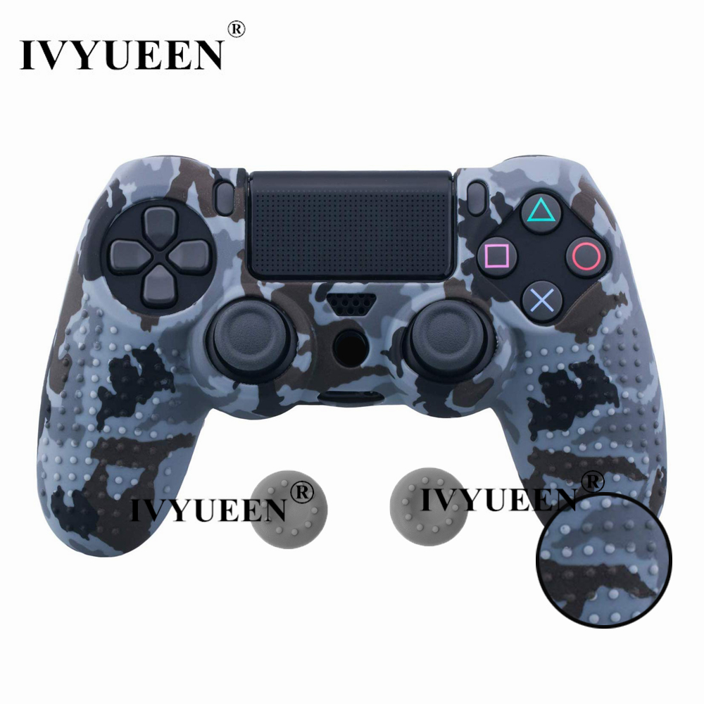 for PlayStation 4 ps4 Pro slim controller silicone case skin 03