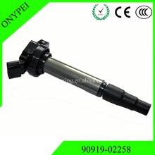 90919 02258 uf 596 c1714 UF 619 bobina de ignição para a matriz de toyota corolla prius scion xd 1.8 rav4 90919 02258 9091902258