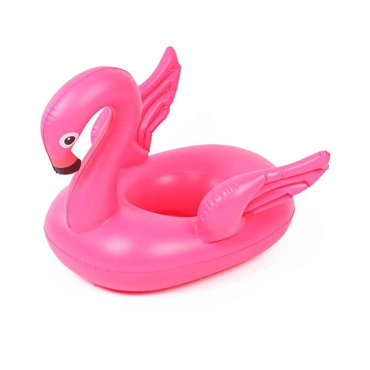 メーカー卸売ホット販売子供のおもちゃ水用品フラミンゴ水泳管の厚さの環境にやさしい PVC Infl