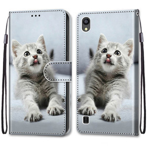 Image 4 - Cool สัตว์ Flip สำหรับใบมีด ZTE Blade 20สมาร์ท A5 A3 A7 V10 Vita 2020 A6 Lite L8 2019กระเป๋าสตางค์หมีสิงโตหมาป่าแมว