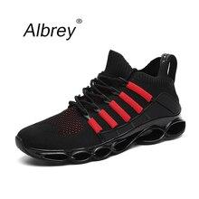 2019 ใบมีดใหม่แฟชั่น Breathable รองเท้าผ้าใบสบายๆสบายๆรองเท้าผู้ชาย