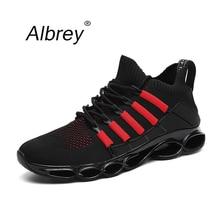 2019 neue Klinge Mode Atmungs Sneakers Bequeme Beiläufige Laufende Schuhe der Männer