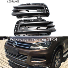 MZORANGE светодиодный DRL Дневной ходовой светильник для VW Touareg 2011-14 супер яркий с регулятором яркости Быстрая