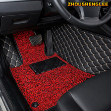 ZHOUSHENGLEE-alfombrillas personalizadas para coche, MINI alfombras de un pie para mini Cooper R50 R52 R53 R56 R57 R58 F55 F56 CLUBMAN Countryman R60 F60