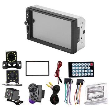"2 Din 7018B 7"" Car Mp5 Multimedia Player Autoradio Stereo Touch Screen Video Multimedia Player Car Radio Audio Bluetooth Player"