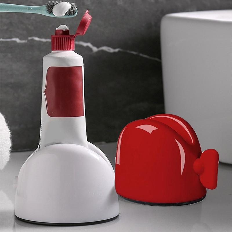 Rolling Tube Toothpaste Squeezer Dispenser for Bathroom Accessories Tooth Paste Squeezer Dispenser Creative Toothpaste Holder 1