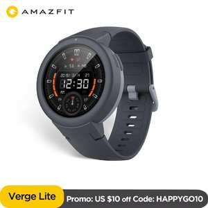 Smartwatch IP68 GPS GLONASS Life-Amoled-Display Long-Battery Ios Amazfit Verge-Lite In-Stock