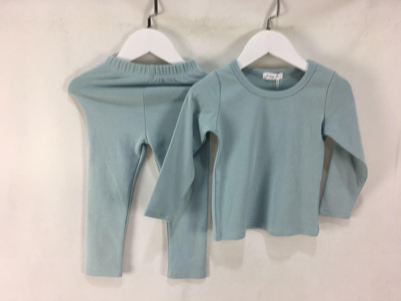 2 pçs terno crianças macio outono inverno conjuntos de roupas