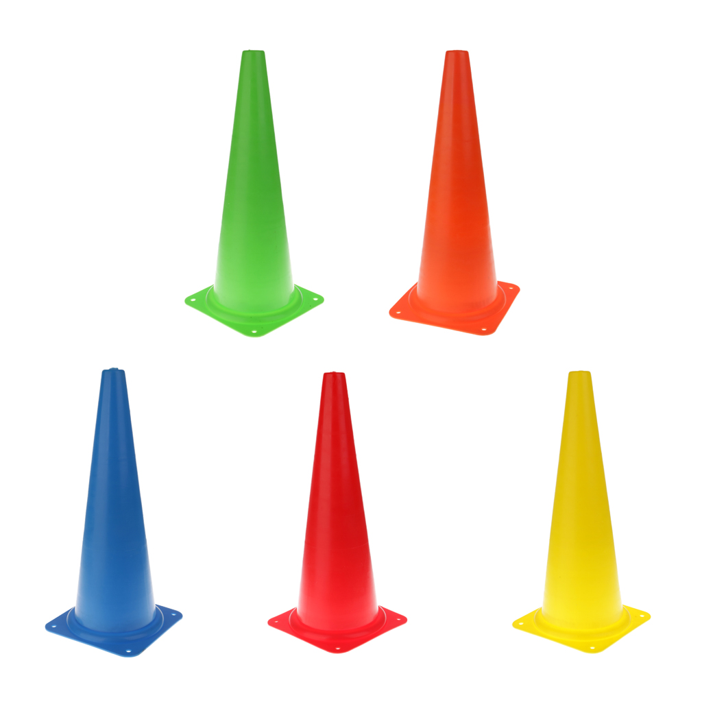 48cm/18.9'' Tall Durable Safety Cone For Sports Training, Soccer, Equestrian, Construction, Traffic, School