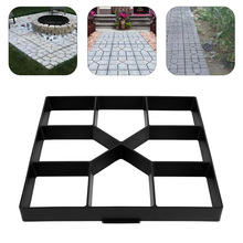 DIY Garden Paving Mold Manually Paving Cement Brick Stone Ro