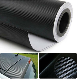 3D Carbon Fiber Car Stickers Decals for yeti volkswagen bmw e46 jeep wrangler jk toyota corolla bmwfor dodge ram 1500 mustang
