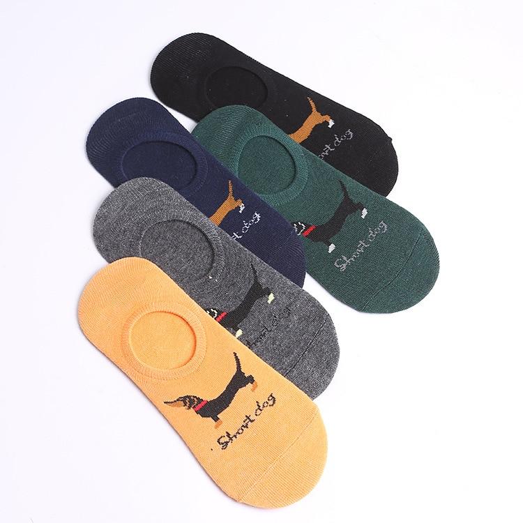 Socks Men Pure Cotton Short Socks No-show Socks Men's Socks Summer Short Deodorizing Sweat Absorbing Low Top Thin Invisible Shal