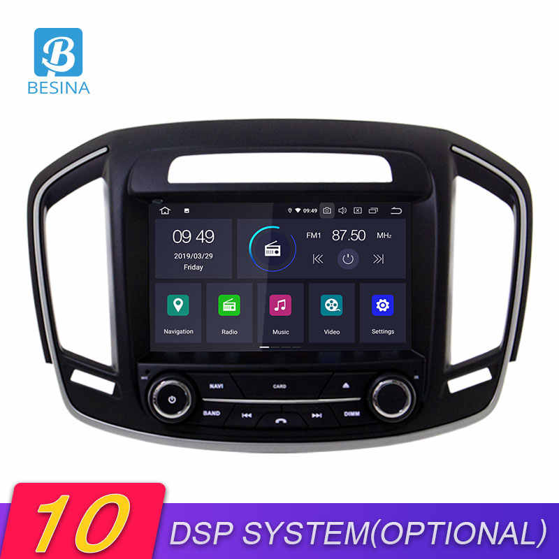 Besina Android 10.0 Lettore DVD Dell'automobile Per Opel Vauxhall Holden Insignia 2014-2017 2018 Multimedia GPS Stereo 2 Din auto Radio Stereo