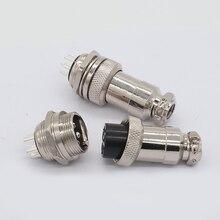 ZHQCN GX20 19 мм 2 контакта 3 контакта 4 контакта 5 контактов 7 контактов 8 контактов водонепроницаемый авиационный штекер разъем питания Электрический сигнальный адаптер 9-15 контактов