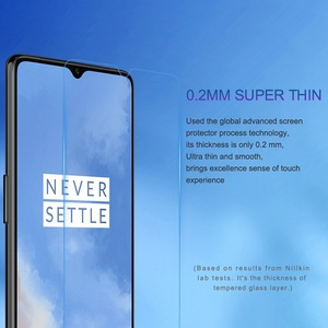 Image 2 - OnePlus 7 oneplus 7t Glass Screen Protector 6.41 NILLKIN Amazing H/H+PRO/XD+ 9H oneplus 7 Tempered Glass Protector OnePlus 6T