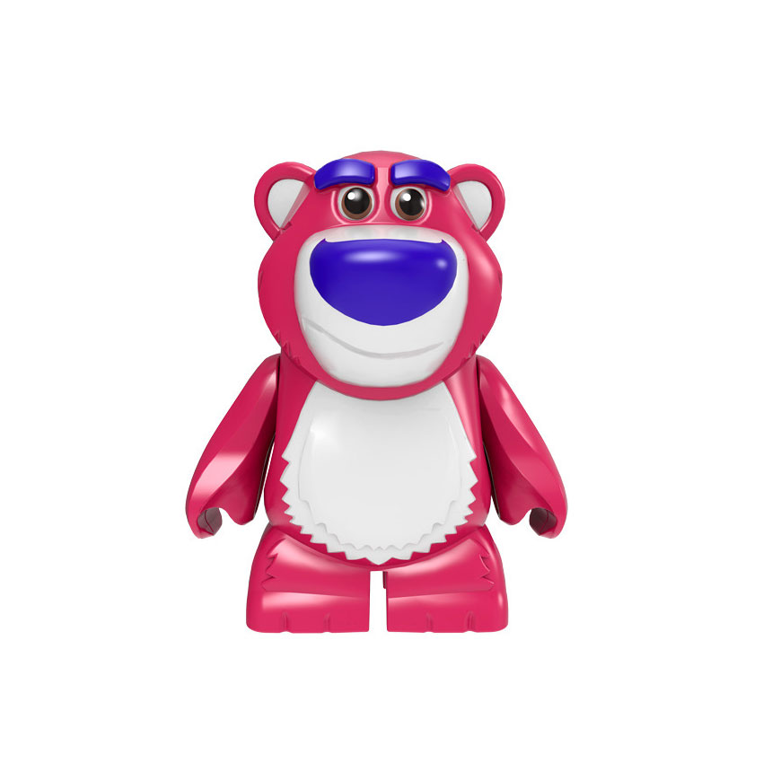 Stitch ET Elliott Angie Gizmo Stay Puft Finn Stripe Building Blocks Toys for Children Gift Gremlins(China)