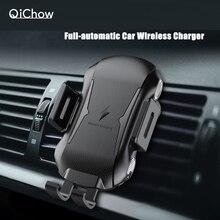 New Full Automatic 10W Qi Fast Charging Car Phone Holder