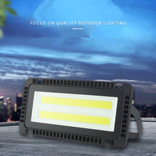 Rectangular LED Flood Light 50W/100W/150W Ultra-thin AC 220V  Advertising Light IP67 Outdoor Waterproof Spotlight