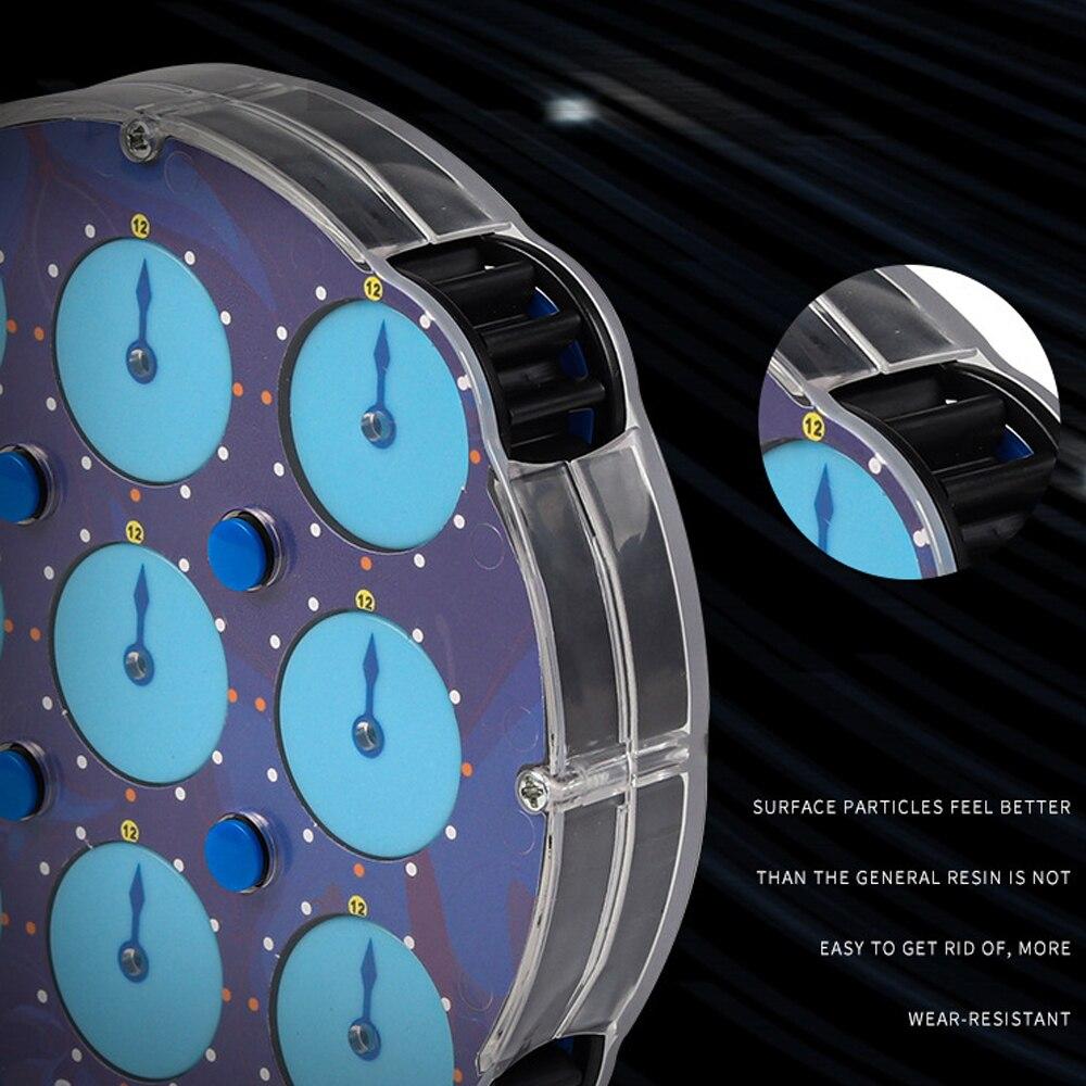 cubos magneticos relogio magico educacional cubos inteligentes 04