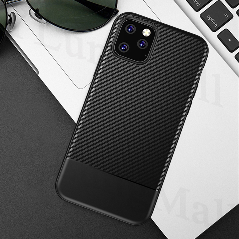Binbo Carbon Fiber Case for iPhone 11/11 Pro/11 Pro Max