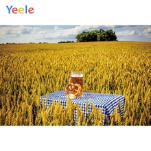 Yeele Oktoberfest Party Photocall Farm Wheat Beer Photography Backdrops Personalized Photographic Backgrounds For Photo Studio