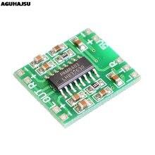 2PCS PAM8403 Super mini digital amplifier board 2 * 3W Class D digital amplifier board efficient 2.5 to 5V USB power supply
