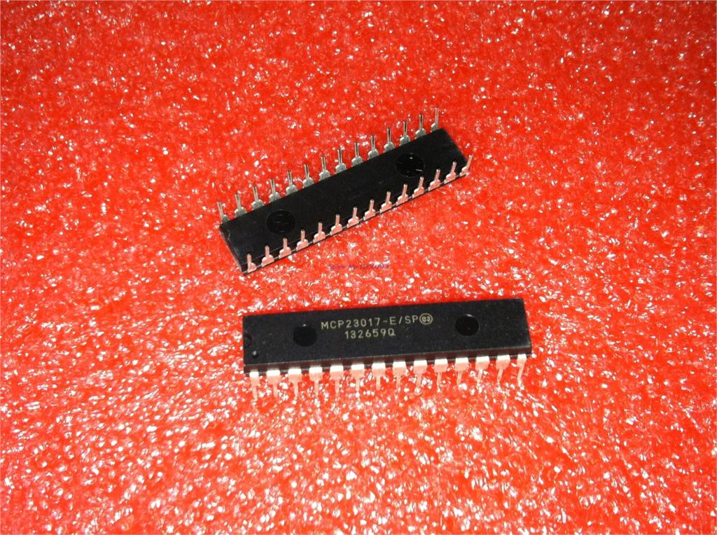 1pcs/lot MCP23017-E/SP MCP23017 DIP-28 In Stock