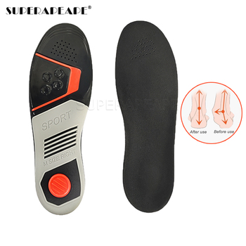 Sports Orthopedic Insoles For Shoes Soles Arch Support Foot Vargus Valgus Corrector Orthotic Insole Shoe Pad Inserts Pain Relie image